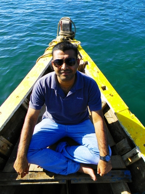 SANDESH BHARADWAJ Travel Blogger