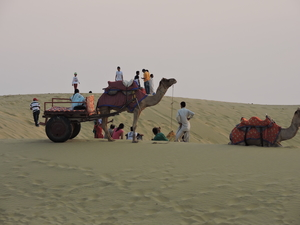 Undying sand-dunes of Jaisalmer