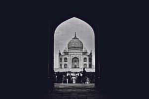 Taj Mahal: An unseen perspective