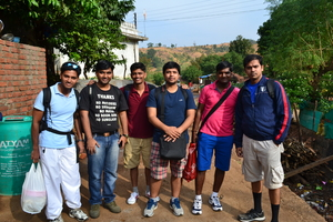 Backpacking to Matheran