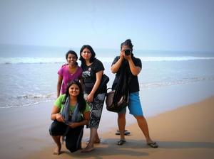 All girls trip to Puri