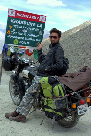 Adventure Enfield To Leh Ladakh (Bike Trip)
