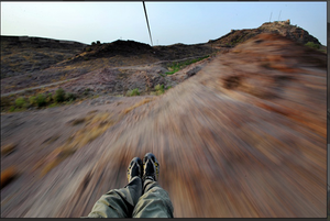 Flying into the past: Mehrangarh Fort, Jodhpur