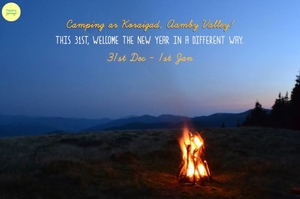 New Years - Camping at Koraigad on 31st December!