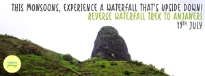 Reverse Waterfall Trek to Anjaneri on 19th July 2015 with Mapping Journeys!