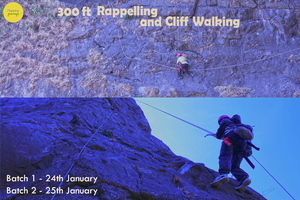 300ft Rappelling and Cliff Walking at Dukes Nose