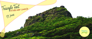 Trek to Tikona Fort on 19th June 2016 - Mapping Journeys!