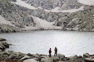 The Kailash Kund (13500 ft.)
