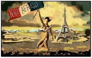 Cartoonists Pay A Heartbreaking Tribute To Paris