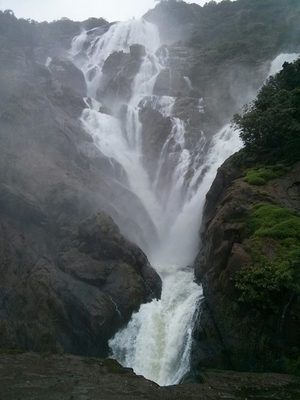 Trek to Doodhsagar Waterfalls