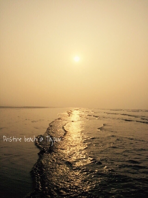 Exploring Coastal West Bengal-Tajpur on Bike