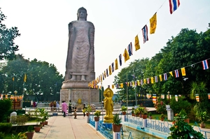 Sarnath, the place where Buddha gave his first teaching after enlightenment
