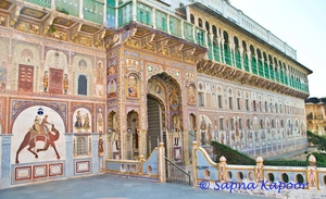 Frescos of Shekhawati