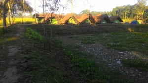 """TENT ABODE"", the Tented Resort at Majuli"