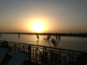 Luxor, Egypt: Sailing on the Nile by Felluca