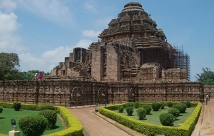 Puri - one of the beach destinations as well as pilgrimage center in Eastern India