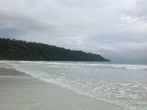 Lost in the blue water of Andaman and Nicobar islands