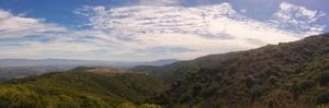 Hiking up black mountain (Bay Area)