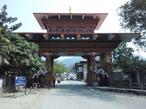Crossing Border - Bhutan