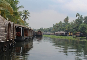 A trip in Kerala Backwaters