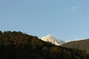Snow Clad Mountains of Mcleodganj