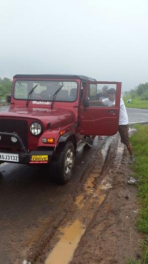 Pune - Jaipur in my Thar