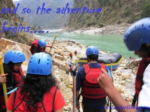 white water rafting with camping