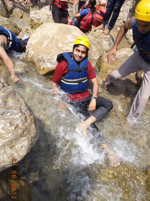 Rishikesh Rafting.... Can't describe my first outdoor adventure