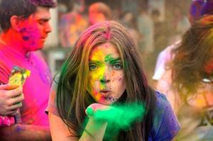 Holi - A colourful bliss!