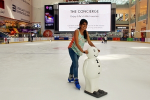 Ice Skating At The Dubai Ice Rink