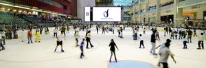 Ice Skating At The Dubai Ice Rink