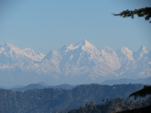 Weekend trip to Ramgarh ..Garhwal range  Himalaya