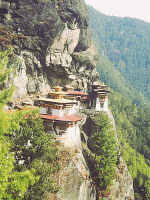 A miracle happened at Taktsang.