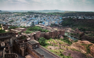 A timeless affair with the city of blue walls and Makhania Lassi- Jodhpur.