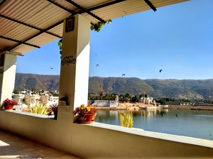 My first Glamping experience at Skywaltz, Pushkar.