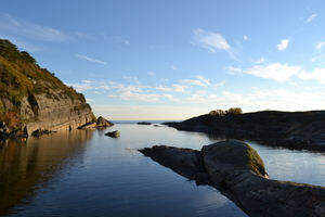 And I just walked down here--- Langesund, Norway