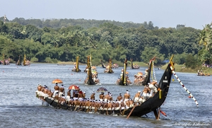 Snakeboat Race In Aranmula