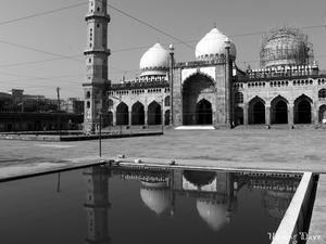 India's Largest Mosque: Taj-Ul-Masajid - 'The Crown of Mosques'