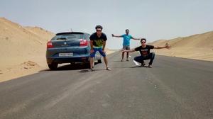 It's time for Thar desert (Jaisalmer)..!! Non stop 2025 kms from Gurgaon to Jaisalmer and back..!!