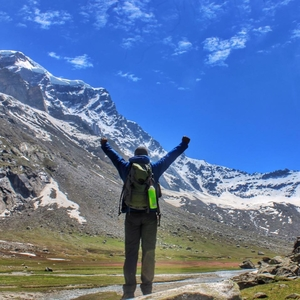 Deo Tibba Climbing Expedition at 18000 Ft.