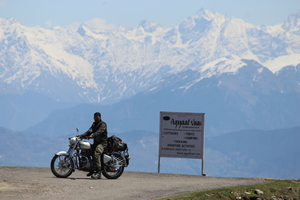 Shimla -> Narkanda -> Chail (The Royal Enfield Diaries)