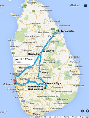 (Almost) Around Sri Lanka in 4 Days!