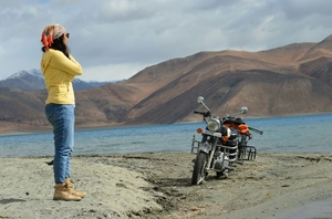 Biking through Ladakh: The journey of surprises