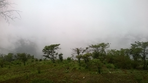 Amidst the clouds in Panchgani