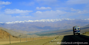"""Of Monks, Tourist Guides and """"Julley"""" at Leh"""