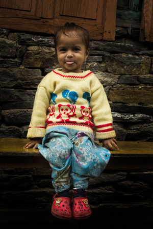 Kinnaur with a Backpack