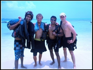 Scuba Diving in Havelock (Andaman)