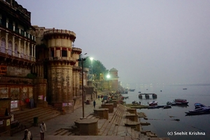 Why should one go to banaras? To die and be reborn