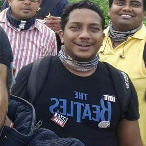 Sunit Surendran Travel Blogger