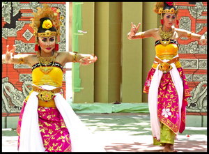 Culture, people, streets of Bali